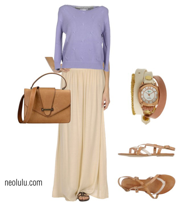 Coffee with Cream: Relaxed Outfit Idea