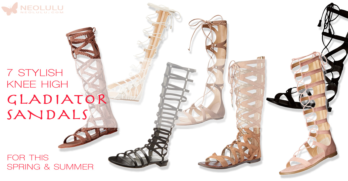 633182162235d4 7 New Knee High Gladiator Sandals That Will Make You Look Fabulous This  Summer