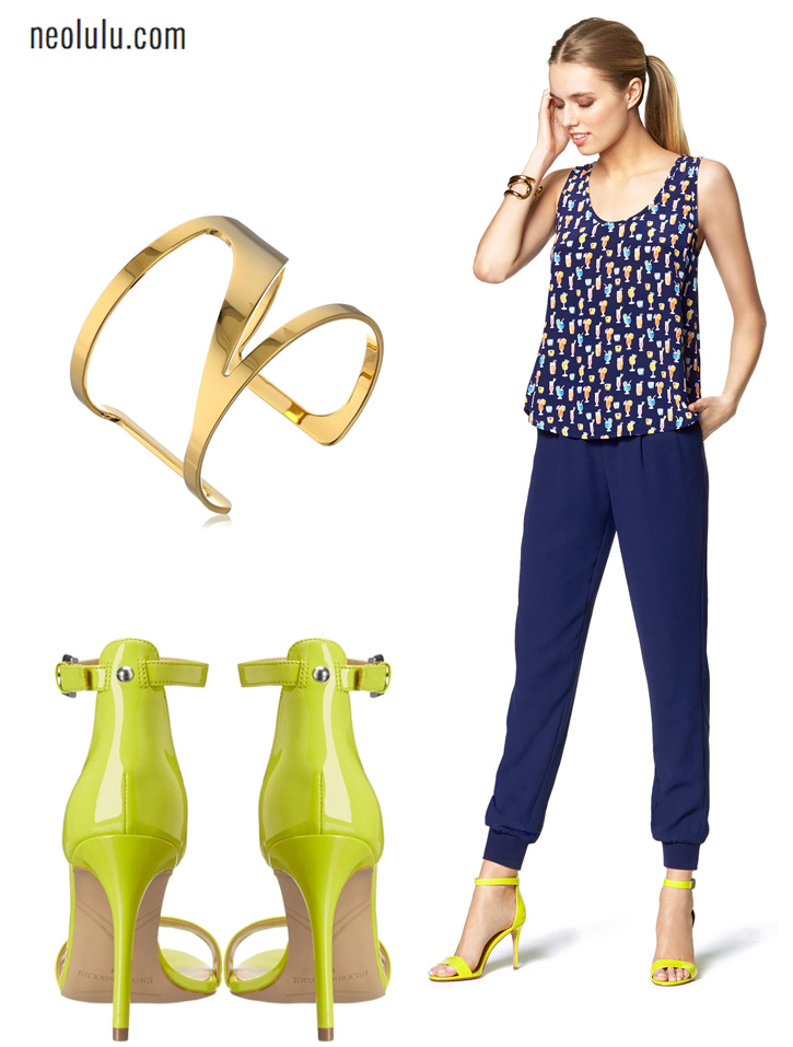 Green Sprouts | Breezy Silk Top and Relaxed Pants Spring Outfit Idea