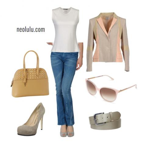 Pastels & Suede | Casual Outfit Idea