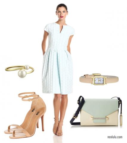 Spring Pastels | Light, Fresh and Feminine Dress Outfit