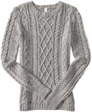 Aeropostale Women's Cable Sweater