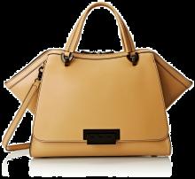 ZAC Zac Posen Eartha Unlined Soft Double Top-Handle Bag