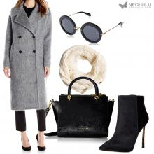 Fashion Week: Luxurious Mohair Coat Outfit for Fall