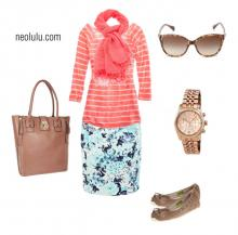 Strawberry Sorbet   Casual Summer Outfit Idea