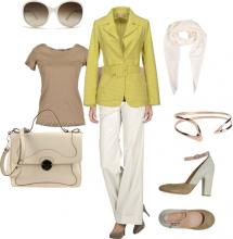 Elegant Sophistication | Business Casual Outfit Idea